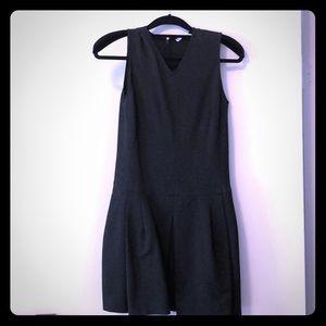 Dark grey business dress